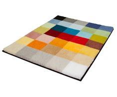 Kleine Wolke Tappeto da Bagno 8821148213Â Cubetto poliacrilico, 65Â x 90Â x 3Â cm, Multicolore