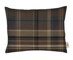 Tom Tailor 575048 Fodera senza cuscino T-Cosy New Check, 30 x 50 cm, colore: Blu/Grigio
