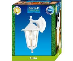 Garza Aura applique descendente E27, bianco/blu