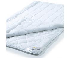 Aqua-Textil 10579 Piumone 4 stagioni 200 x 200 cm, copripiumino 100% Jahresdecke Certificazione Öko-Tex in morbida microfibra lavabile in lavatrice a 90 °C