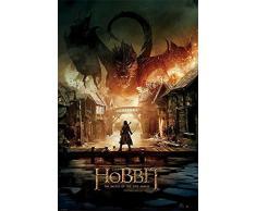 Empire - Poster Lo Hobbit con il drago Smaug multicolore