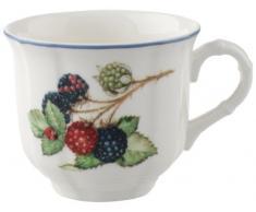 Villeroy & Boch Cottage Tazza da Caffè, 200 ml, Altezza: 7 cm, Porcellana Premium, Multicolore