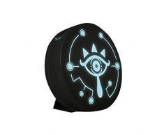 The Legend of Zelda Sheikah Eye Luce di proiezione con suono illusione ottica e lampada di proiezione, ideale per bambini, camera da letto, ufficio e casa, LED, doppia alimentazione, USB o batteria