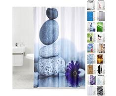 Tenda da doccia, doccia tende a scelta molte belle, di alta qualità, Tessuto, Energy Stones, 180 x180 cm