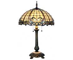 la Casa di Tiffany 5ll-5298 Lampada da Tavolo, Marrone