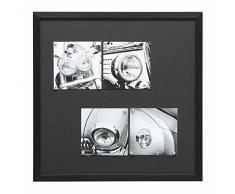 Deknudt Frames S41VH2 M 50 x 50 lavagna magnetica nero resina