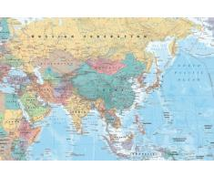 GB Eye, Asia & Middle East, Map, Maxi Poster, 61x91.5cm