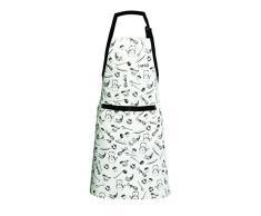 Premier Housewares 5100070 Della Nonna Grembiule, 100% Cotone