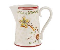 Villeroy & Boch Winter Bakery Delight Bicchiere 500 ml, Porcellana, Rosso, 18.5 x 18.5 x 14.5 cm