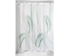 InterDesign Fern Tenda Doccia, Tessuto, Verde, 100x100x100 cm