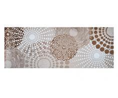 Lifestyle-Mat 100925 passatoia Punti, antiscivolo e lavabile, ideale per il guardaroba, la cucina o la camera da letto 67 x 170 cm, beige / bianco