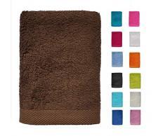 DHestia - Set di Asciugamani da Bagno e Doccia in Cotone 100%, 500 g/m², Colori e Misure Grandi, 70 x 140 cm (Confezione da 2)