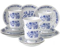 Creatable, Servizio da caffè in Porcellana, 18 pz, Blu (Blau)