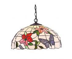 Interfan lampada a sospensione Primavera E27, Multicolore