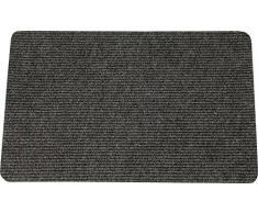 ID Opaco 406002Â Mini bilancio Tappeto Zerbino Fibra Polipropilene Grigio Antracite 60Â x 40Â x 0,3Â cm