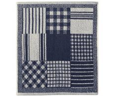 Eiffel Textile Set di Strofinacci Cucina Jacquard Mix, Cotone, Multicolore, 50Â x 50Â x 10Â cm, 3Â Pezzi