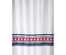 Spirella, Tenda da doccia in tessuto, (Mehrfarbig), 180 cm x 200 cm
