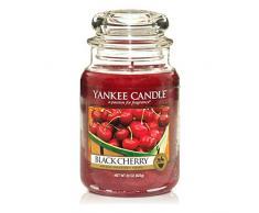 Yankee Candle candela profumata in giara grande, Amarena, durata: fino a 150 ore