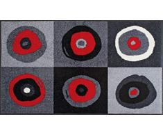 Wash+Dry - Tappeto Sergej Grey 75x120, Grigio