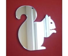 Super Cool Creations Specchio a Forma di Scoiattolo, 40 cm x 38 cm.