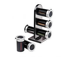 ZEVRO Magnetic Spice Stand - portaspezie, 6 Canisters