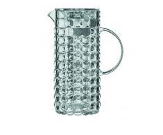 Guzzini Tiffany Caraffa C/Bulbo Refrigerante 18,5 x 11,5 x H 25,5 cm, Grigio