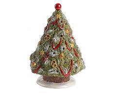 Villeroy & Boch Nostalgic Christmas Market Albero di Natale, Porcellana, Verde, 15.5 x 15.5 x 22.9 cm