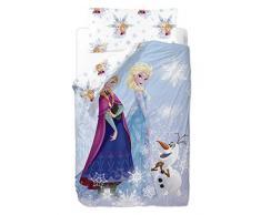 Disney Frozen Friends – Sacco copripiumino de 2 pezzi per letto da 90 cm