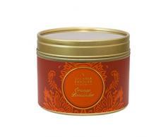 Shearer Candles SC0403 - Candela Piccola in Scatola in Latta, Colore: Arancione