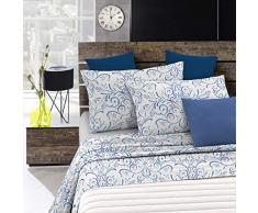 Italian Bed Linen Fantasy Completo Letto, Microfibra, Ornato Tex, A Una Piazza e Mezza