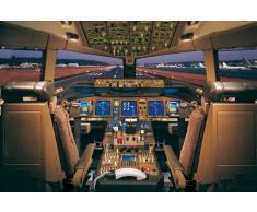 Empire - Poster Boeing 777-200 cabina di pilotaggio, 91,5 x 61 cm