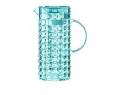 Guzzini Tiffany Caraffa C/Bulbo Refrigerante 18,5 x 11,5 x H 25,5 cm, Blu