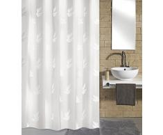 Kleine Wolke - Tenda doccia di alta qualità Canton, realizzata in poliestere, larghezza 180 cm, lunghezza 200 cm
