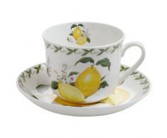 Maxwell & Williams PB8108 - Tazza per la colazione Orchard Fruits con limoni, in confezione regalo