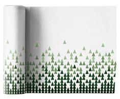 Mydrap tovaglioli 12unità per Rotolo 20x 20cm in Cotone, 9x 12x 16cm, Bianco/Verde