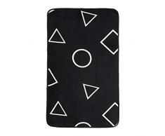 AmazonBasics, Tappetino in schiuma, con stampa, motivo forme geometriche - 60 x 100 cm