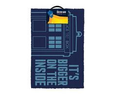 Doctor Who Tardis zerbino, Multicolore