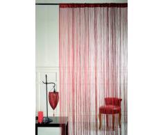 Homemaison HM69808248 - Tenda per Porta a Fili, Colore: Nero