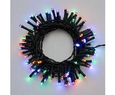 Xmas King Catena Batteria c/TMR Multi Illuminazione di Natale 8024199032378, Multicolore, Unica