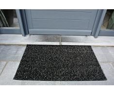 AstroTurf Classic Zerbino per Ingresso da Esterno, Polietilene, Nero, 90x55x2 cm