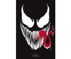 Marvel Venom (Face) Maxi Poster, Multicolour, 91.5 x 61 x 0.03 cm