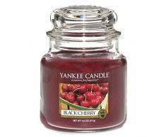 Yankee Candle Candela a Vaso Medio, Amarena