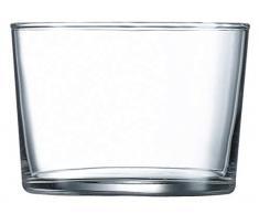 Luminarc Set 4 Bicchieri Vetro Chiquito, 23 cl