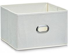 Zeller contenitore in tessuto non tessuto, 24 x 23 x 16 cm, beige (1 pcs)