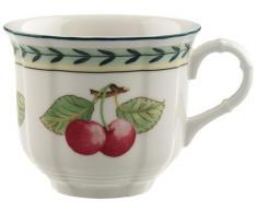 Villeroy & Boch French Garden Fleur Tazza Caffe Senza Piatto, 0.20 L, Premium Porcellana, Multicolore