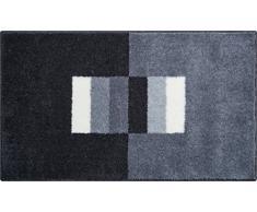 Linea Due CAPRICIO Tappeto per Il Bagno, Poliacrilico Supersoft, Grigio, 60 x 100 cm