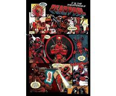Deadpool Maxi Poster, Multicolore
