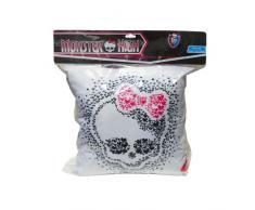 CTI 041218 Monster High - Coperta in pile con cuscino, 110 x 140 cm e 40 x 40 cm, confezione regalo