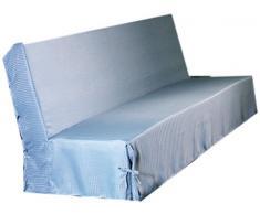 HomeMaison - Copridivano con nastri, Grigio, 200 x 140 cm