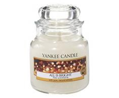 yankee candle Candela in Giara Piccola, All Is Bright